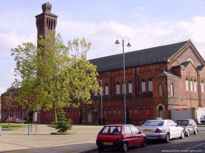 The old Swimming Baths, Ashton under Lyne