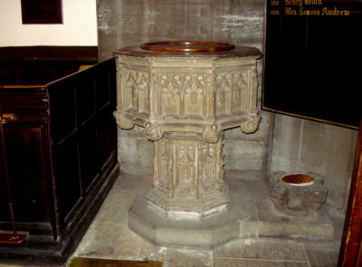Font, St. Michael's Church